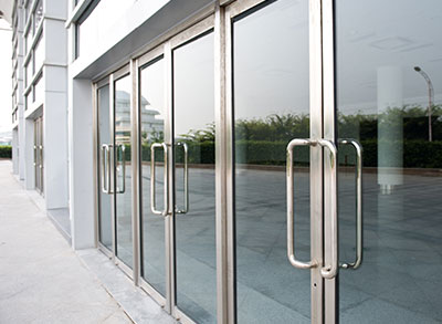 Commercial Glass Door Repair by All Service Glass in Portland, OR